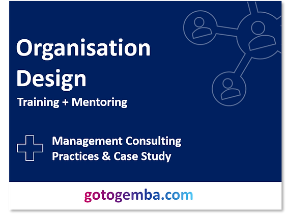 Organisation Design Online Training & Mentoring