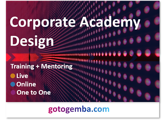 Corporate Academy Design Online Training & Mentoring