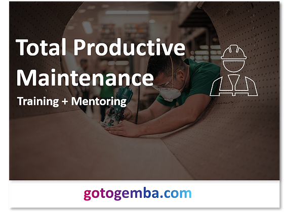 Total Productive Maintenance Online Training & Mentoring