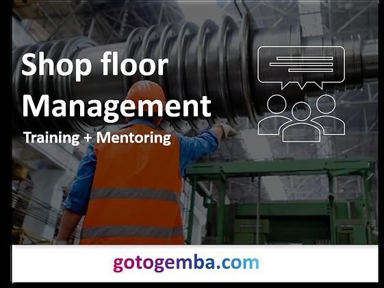 Shop floor Management Online Training & Mentoring