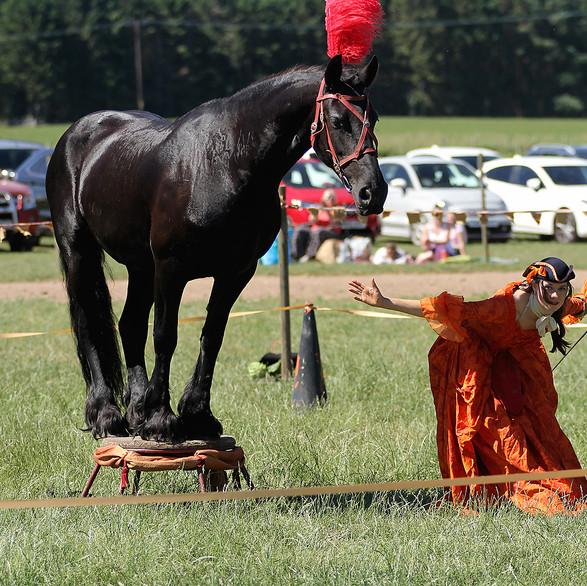 Circus skill!