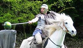 Horse stunt team Scotland