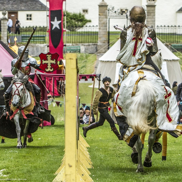 Jousting pass!