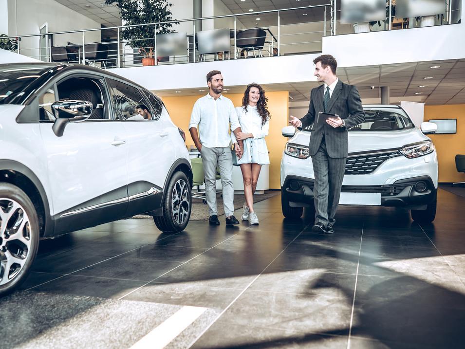 Entwicklungs eines neuen Einzelhandels-Formats in der Automobilindustrie