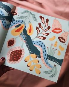 Illustration till broschyr för RFSU.