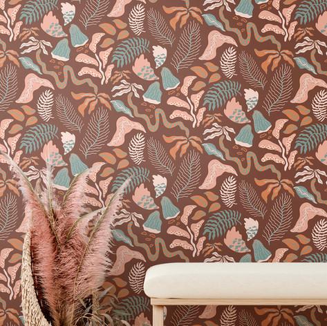 Botanica Brown Tapet