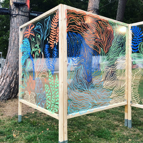 Illustration installation