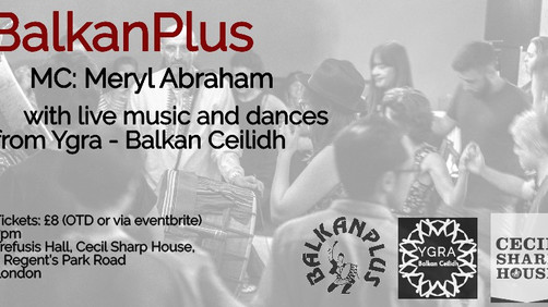 Balkan circle dance with live music