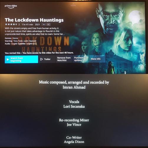 'The Lockdown Hauntings' is now on Amazon Prime