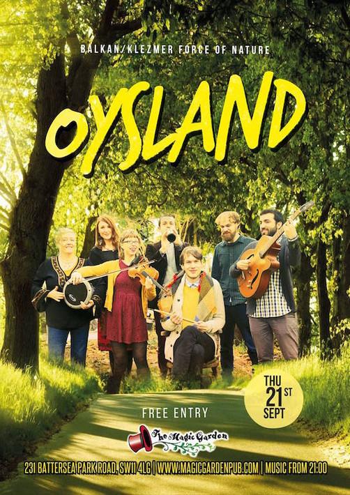 Oysland at Magic Garden