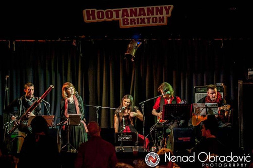 Sunday 8th May - GYPSY FEVER + Colliers Wood Chorus at The Forge (Camden)