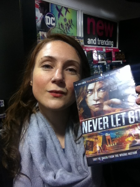 My own copy of 'Never Let Go' :)