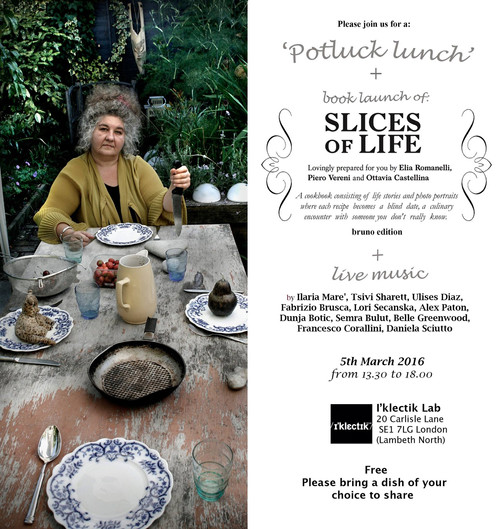 Book launch of 'Slices Of Life' with live music and Potluck lunch (5th March 2016 at 1:30pm