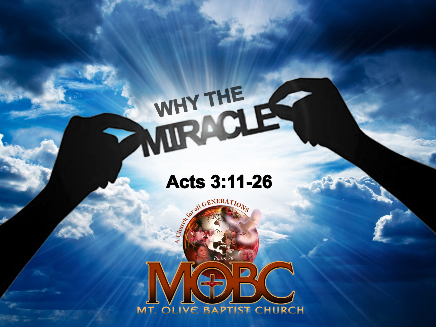 Why the Miracle