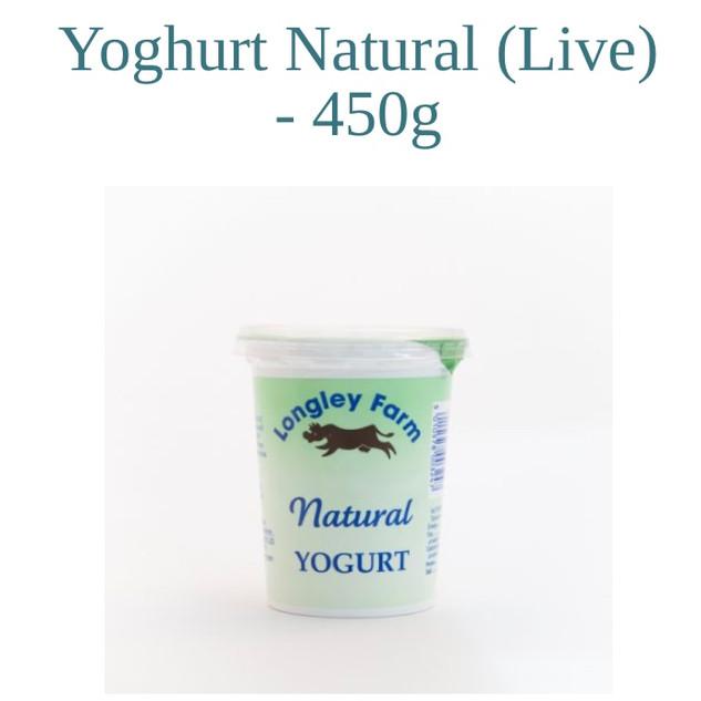 Natural Yoghurt/ Greek Yoghurt/ Fruit Yoghurts