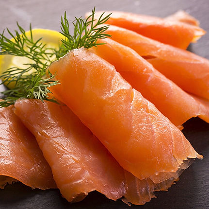 Traditional oak smoked Scottish Salmon
