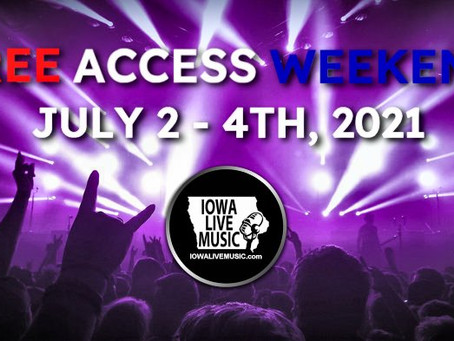 FREE ACCESS JULY 4TH WEEKEND!