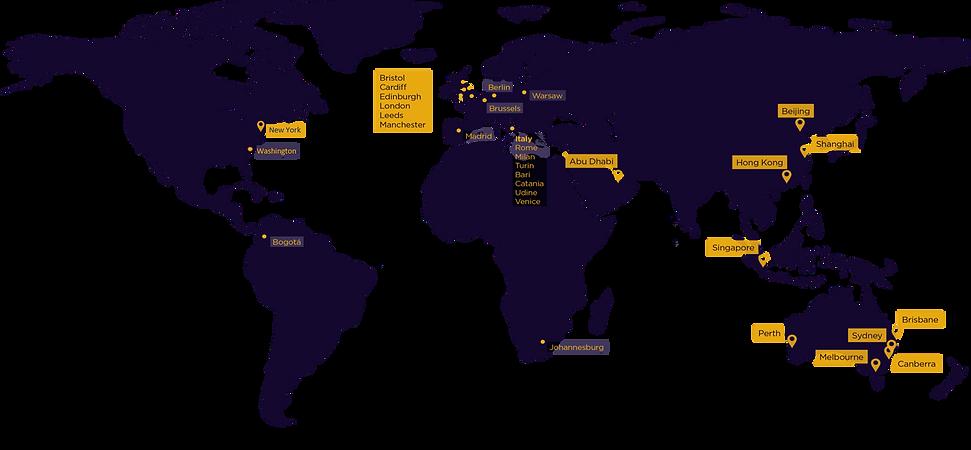 Newgate Asia - Communications - Global Footprint