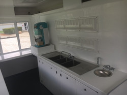 3 Compartment Sink w Drainboards