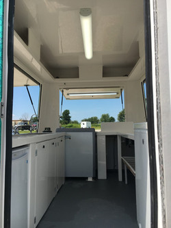 Concession Trailer-Inside View