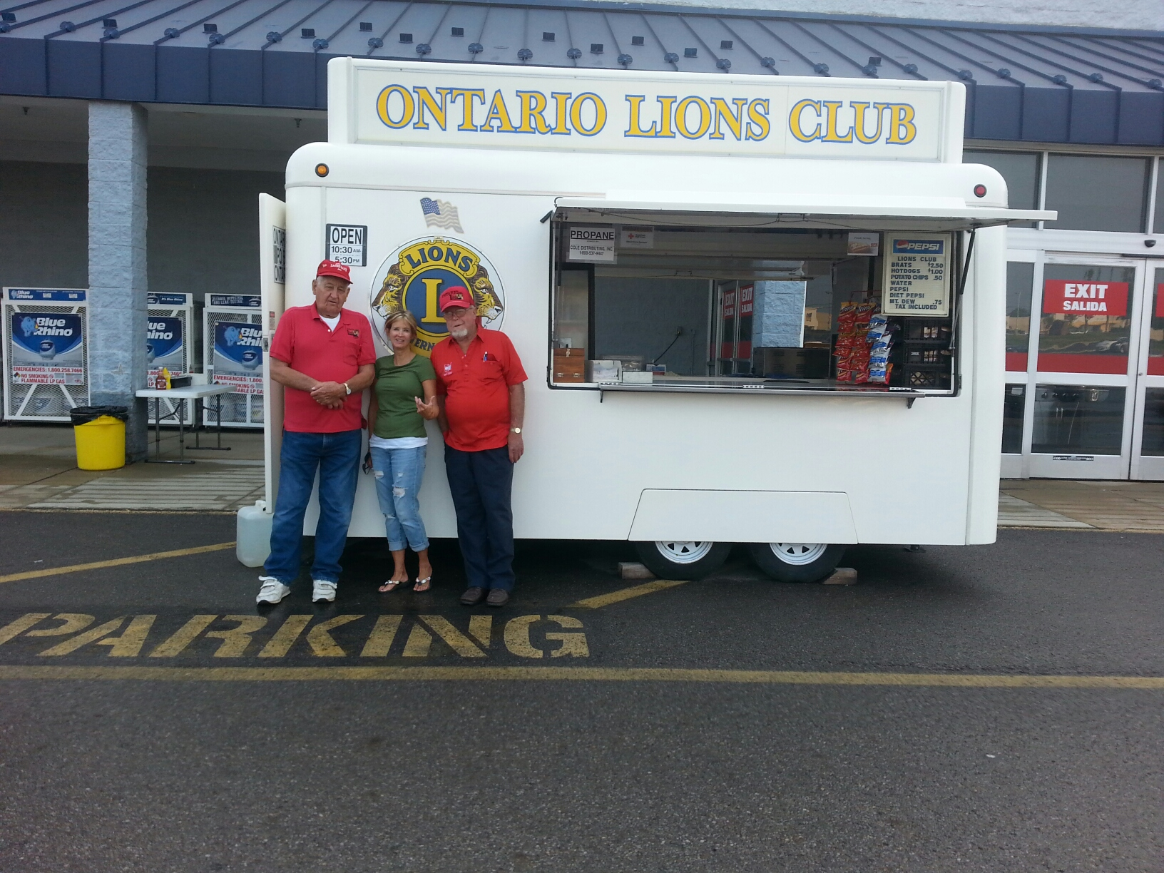 Custom Trailer - Ontario Lions Club