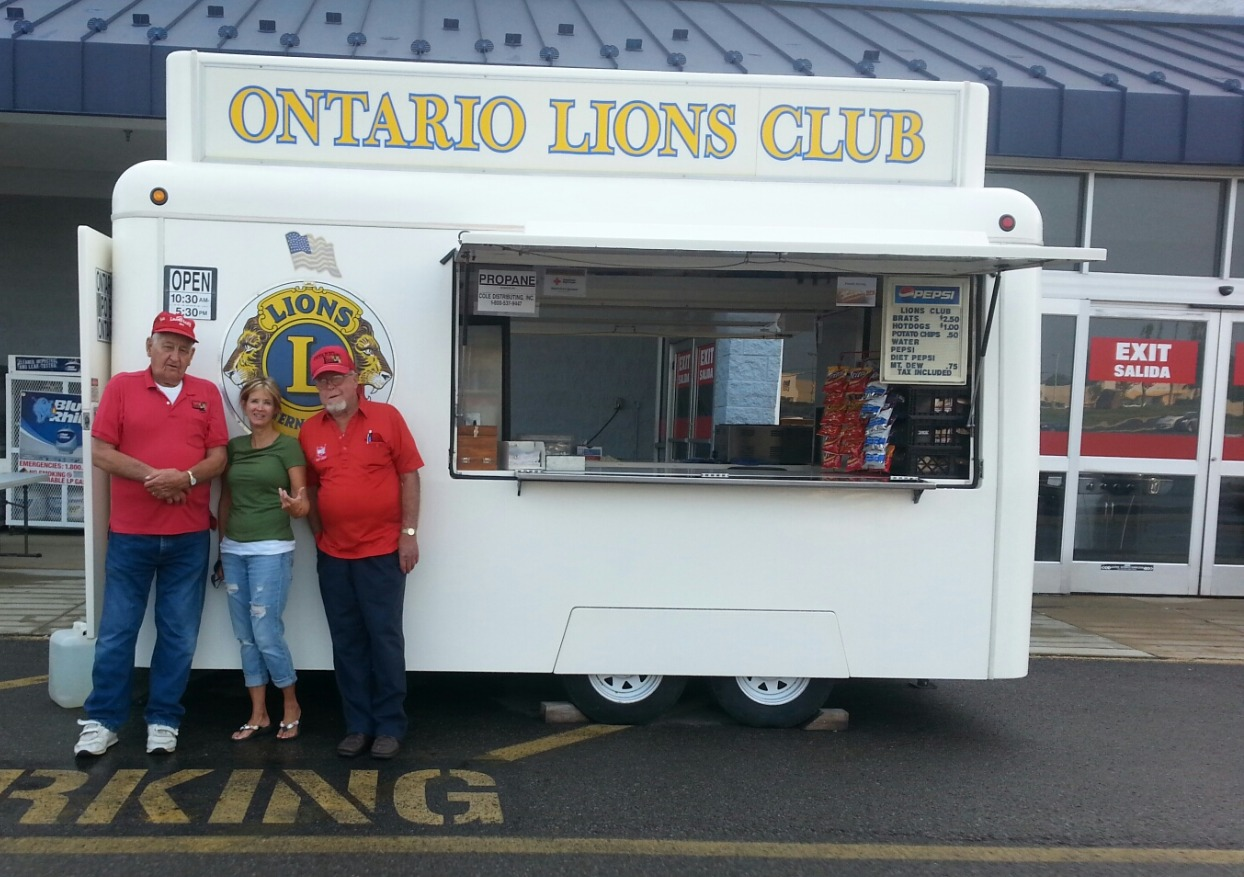 Fund Raising Concession Trailer