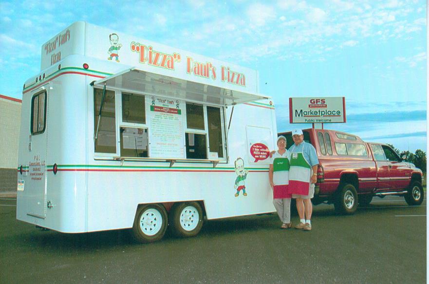 Pizza Concession Trailer