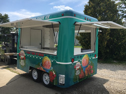 Shave Ice Concession Trailer