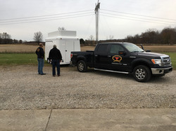 Towing 14' Trailer