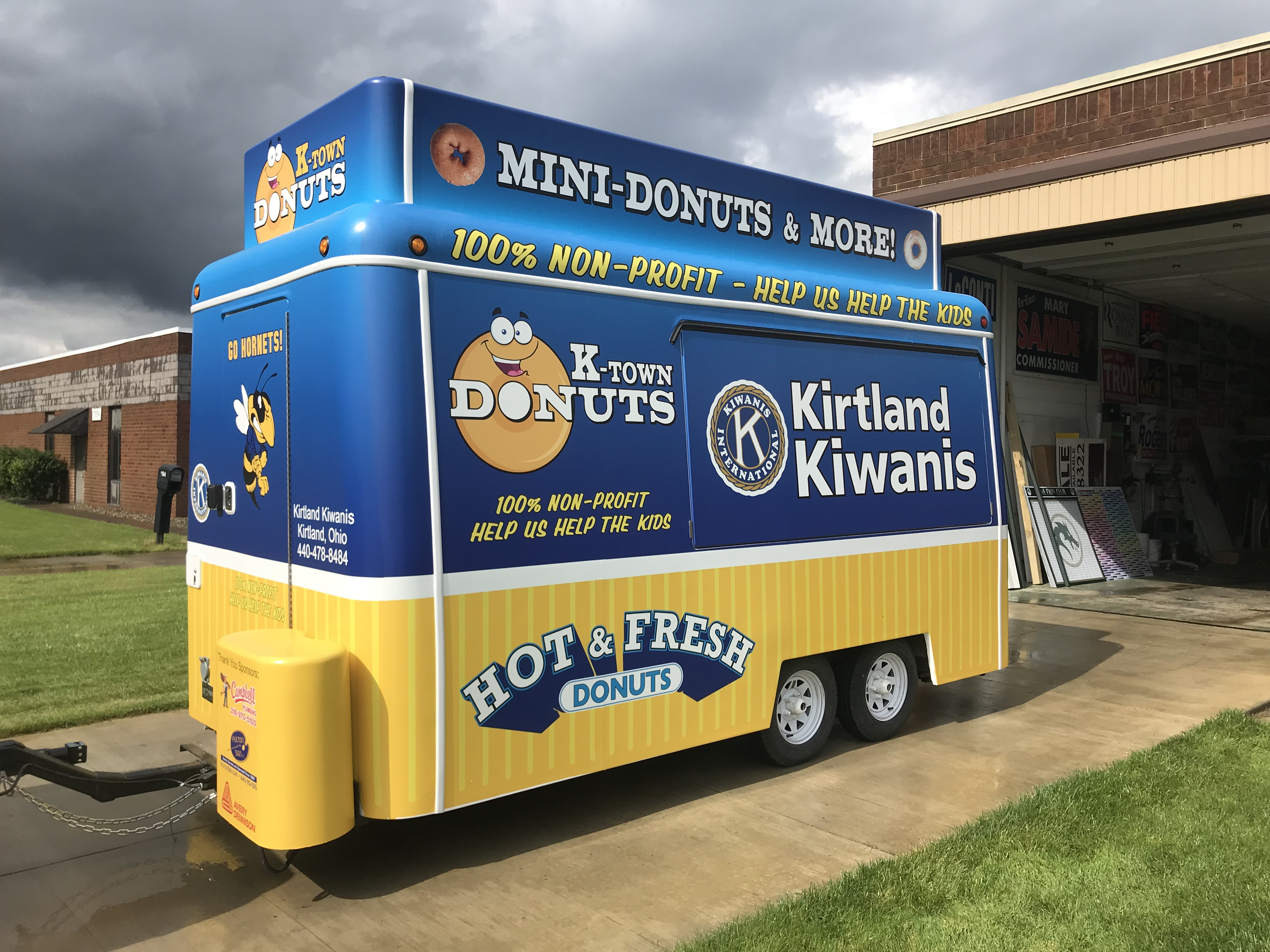 Donut Concession Trailer