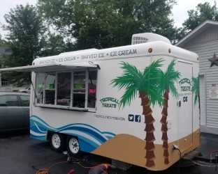 Icecream Concession Trailer