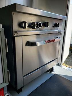 Oven/2 Burner/Grill