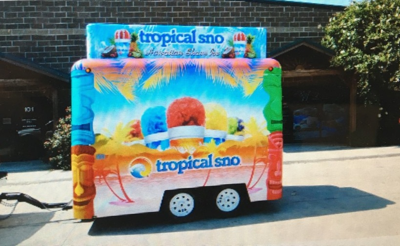 Tropical Sno Concession Trailer