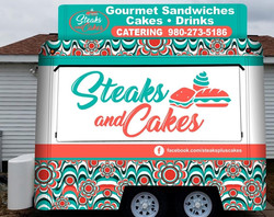 Steaks and Cakes 10' Trailer