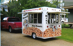 Donut Concession Trailer