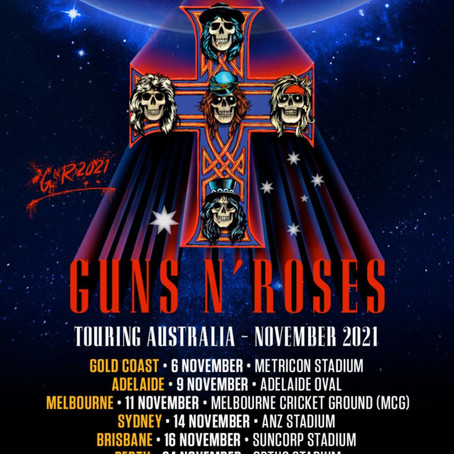 MUSIC NEWS: Welcome back to the jungle! Stadium Rock returns in 2021 courtesy of Guns N' Roses!