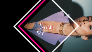 EXCLUSIVE: Singer-songwriter Sayah shares her Fave 5 pop powerhouses of all time!