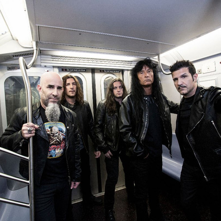 MUSIC NEWS: It's Anthrax season as the band starts their 40th anniversary celebrations!