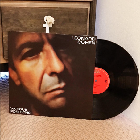 "VINYL REVIEW: ""Various Positions"" (LEONARD COHEN)"