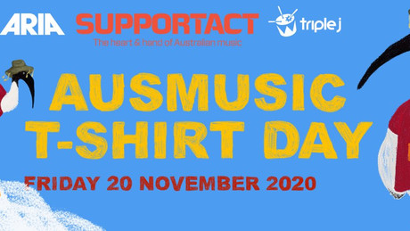 MUSIC NEWS: Band shirts at the ready! It's AusMusic T-Shirt Day this Friday for a very good cause.