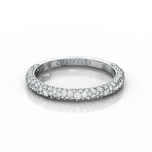 CIUFOLI Ballerini Wedding Band Platinum
