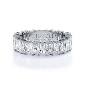 CIUFOLI D-Iconico Wedding Band Platinum