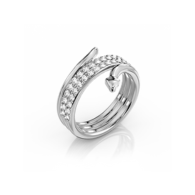 Ciufoli Perpetuo Wedding Band Tapered Ba