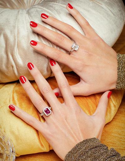 Ciufoli Engagment Rings - Segreto - Ruby