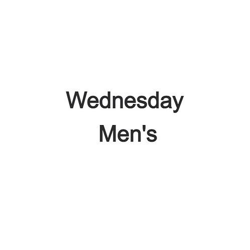 Wednesday Men's