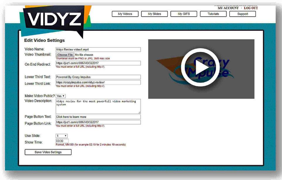 Vidyz review- edit settings area1.jpg