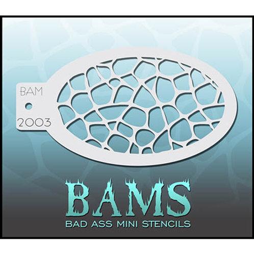 BAM stencil 2003