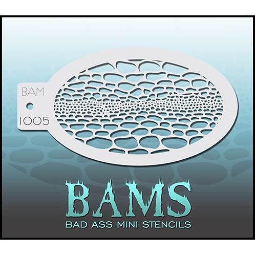 BAM stencil 1005