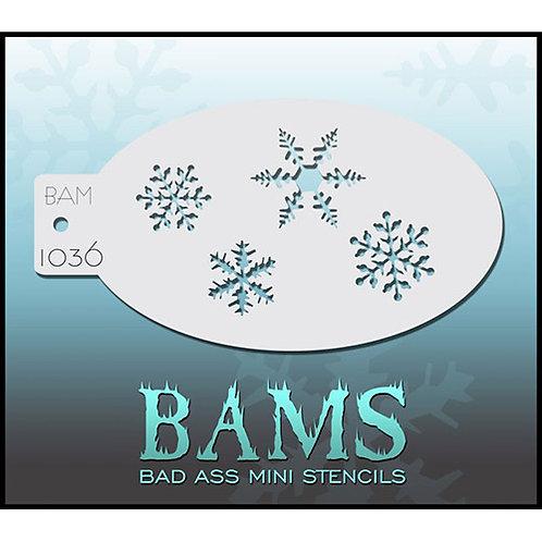 BAM stencil 1036