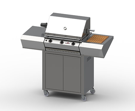 Sizzler Mobile - 3 Burner